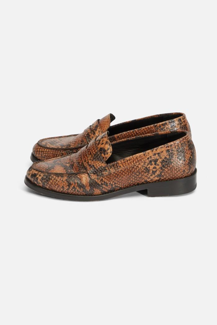 Pyhton loafers