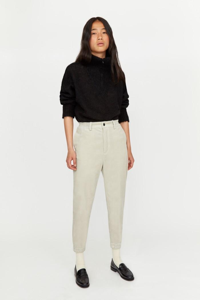 Pantalon Easy Velours