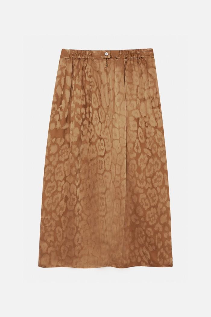 Leopard Walker skirt