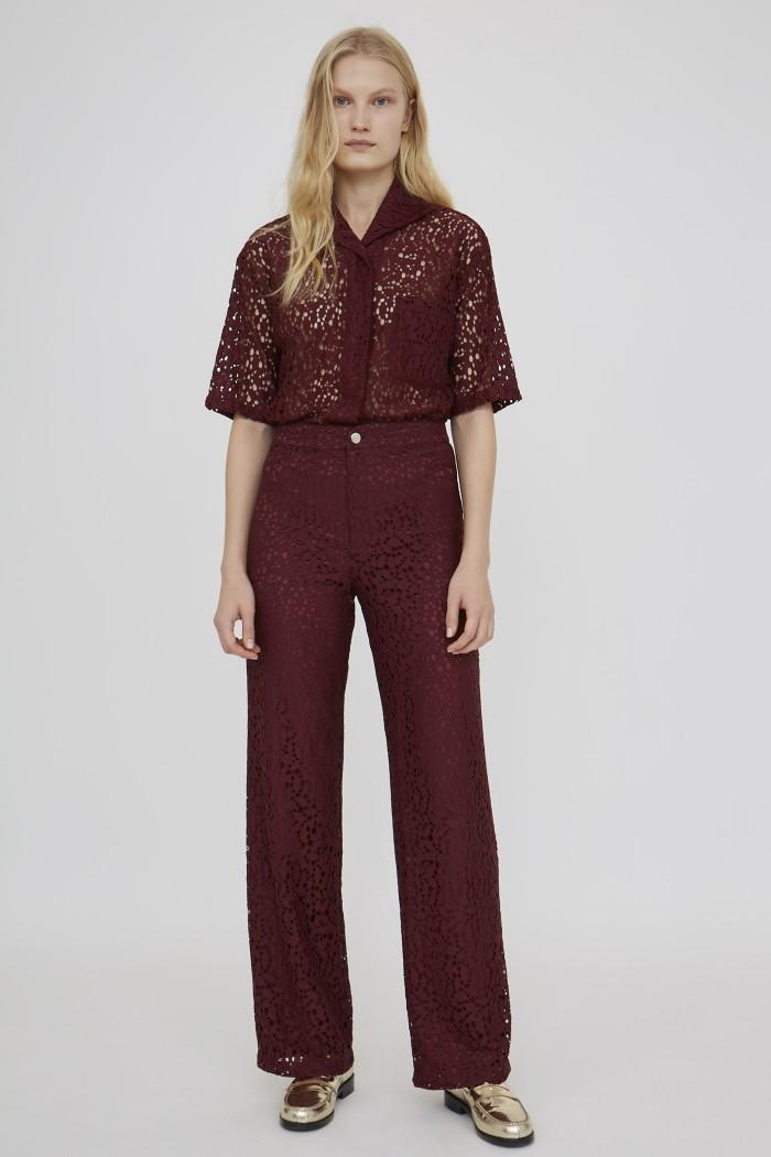 Pantalon Gangster Lace