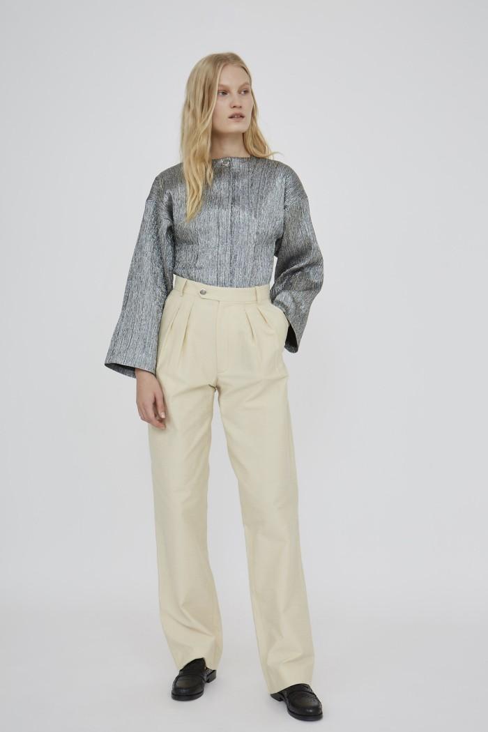Pantalon Taylor Shantung