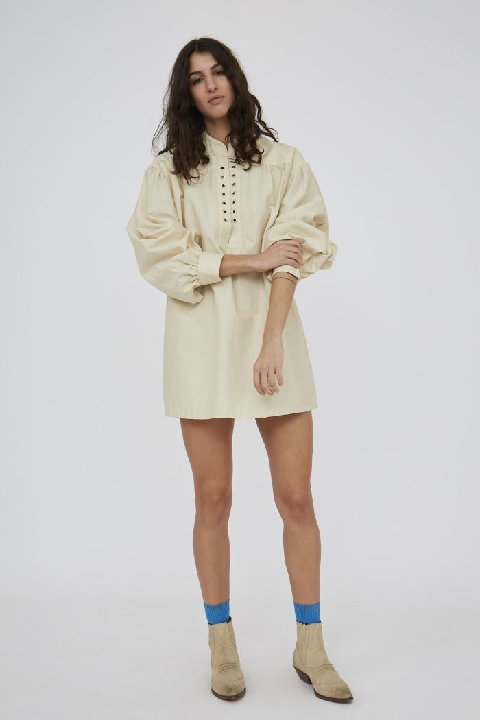 Robe Odd Shantung