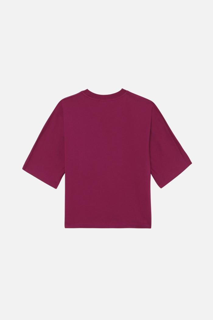 Tee shirt serigraphie artiste Collinscercle Jersey