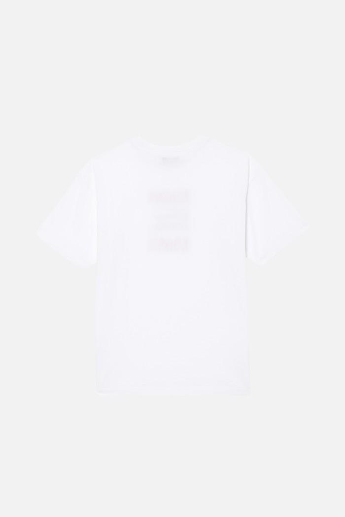 Tee shirt uni serigraphie Hubert art Jersey