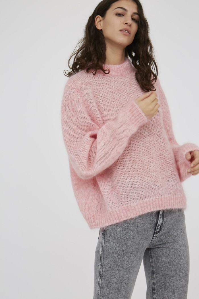 Pull uni Sam Light mohair