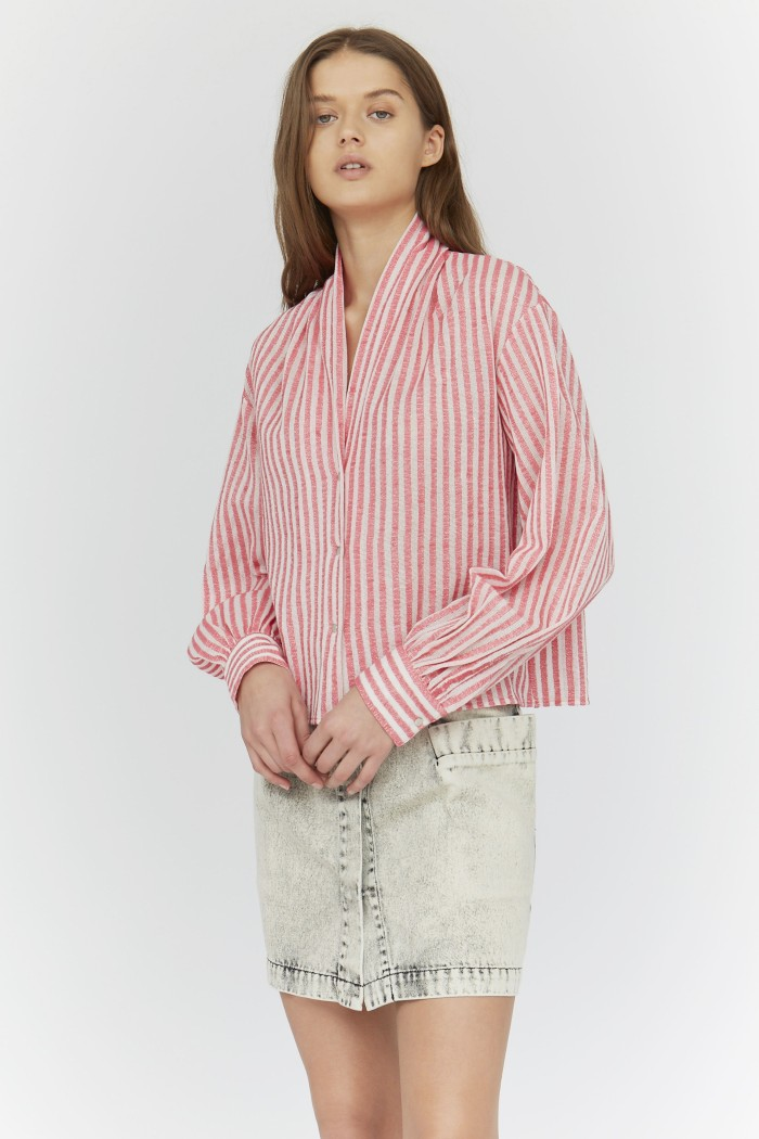 Canvas Ring Blouse
