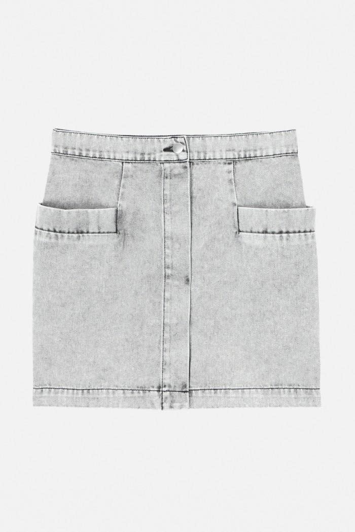 Denim Roof Skirt