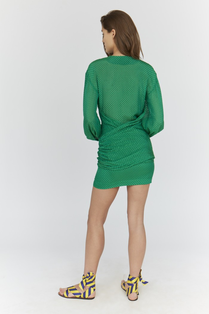 Cut Yarn Darlene Dress