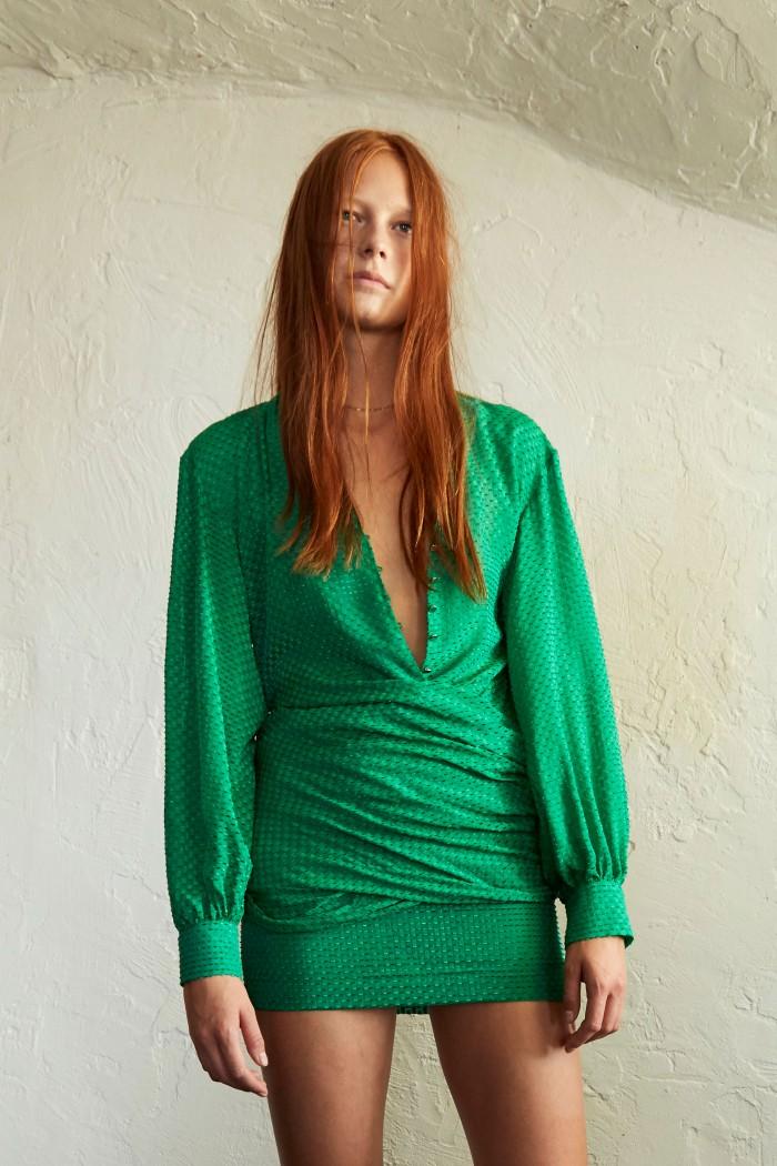 Robe Darlene Cut yarn