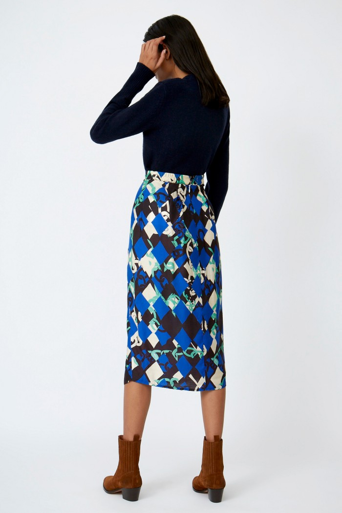 Diamante Walker Skirt