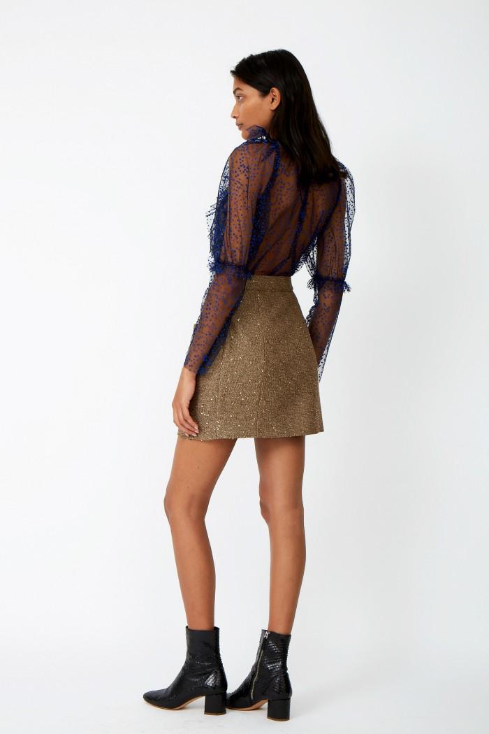 Sequins Roof Skirt