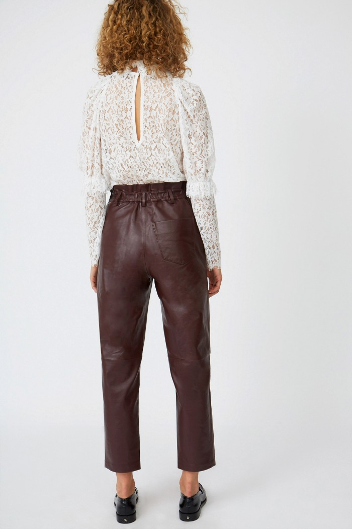 Cuir Face Trousers