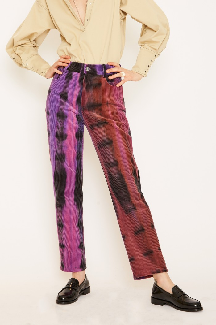 Pantalon Edie Tie And Dye