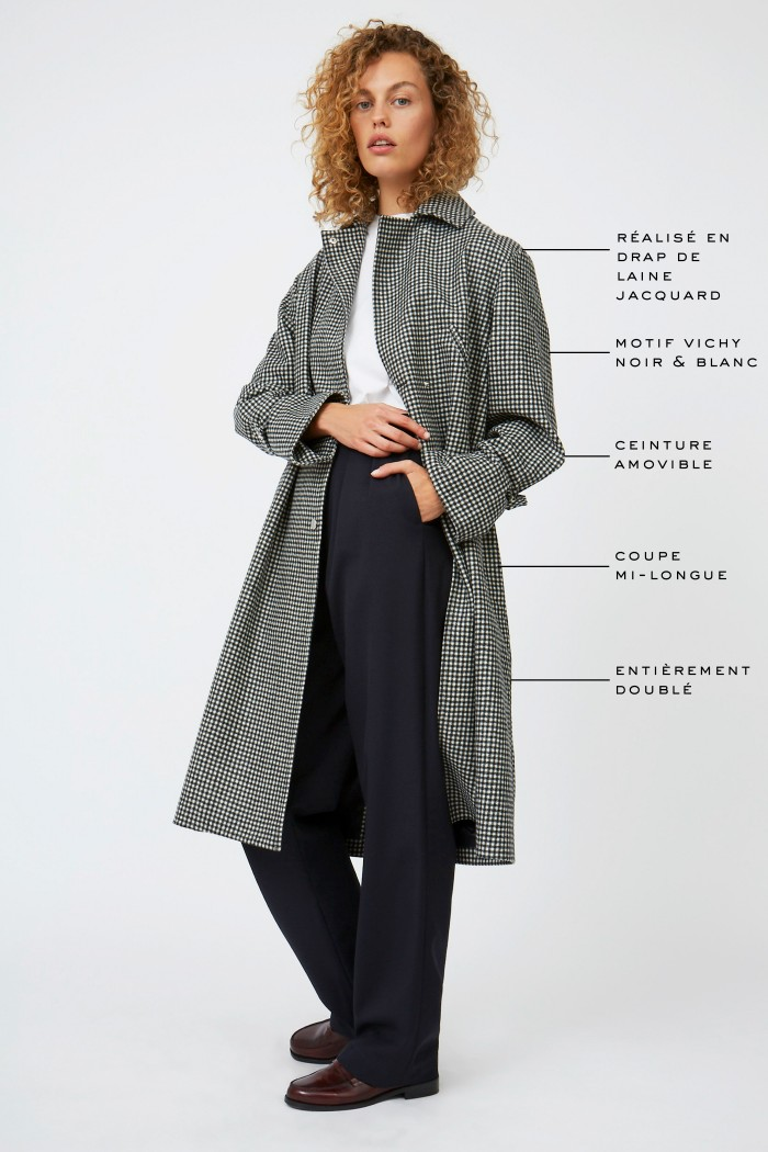 Crespi Fern Coat