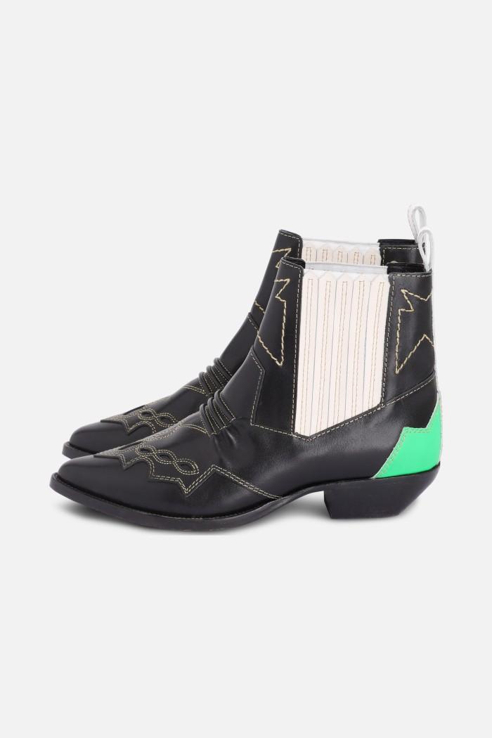 Boots Tucsonmulti Souliers - cuir