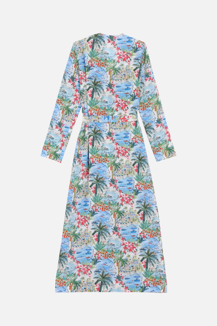 Robe Mercy Liberty corfou - print