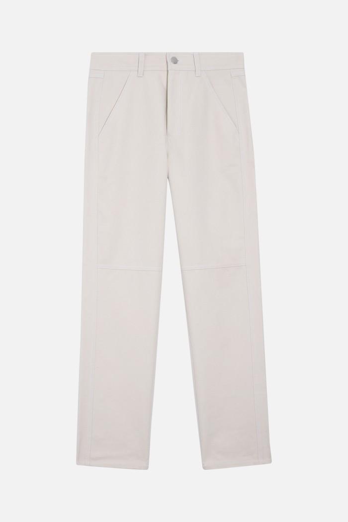 Pantalon Iggy Shantung - uni