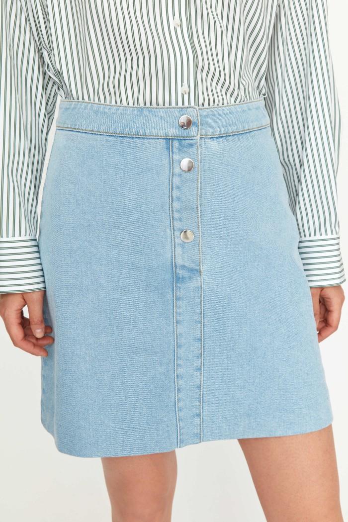 Frankie Denim skirt