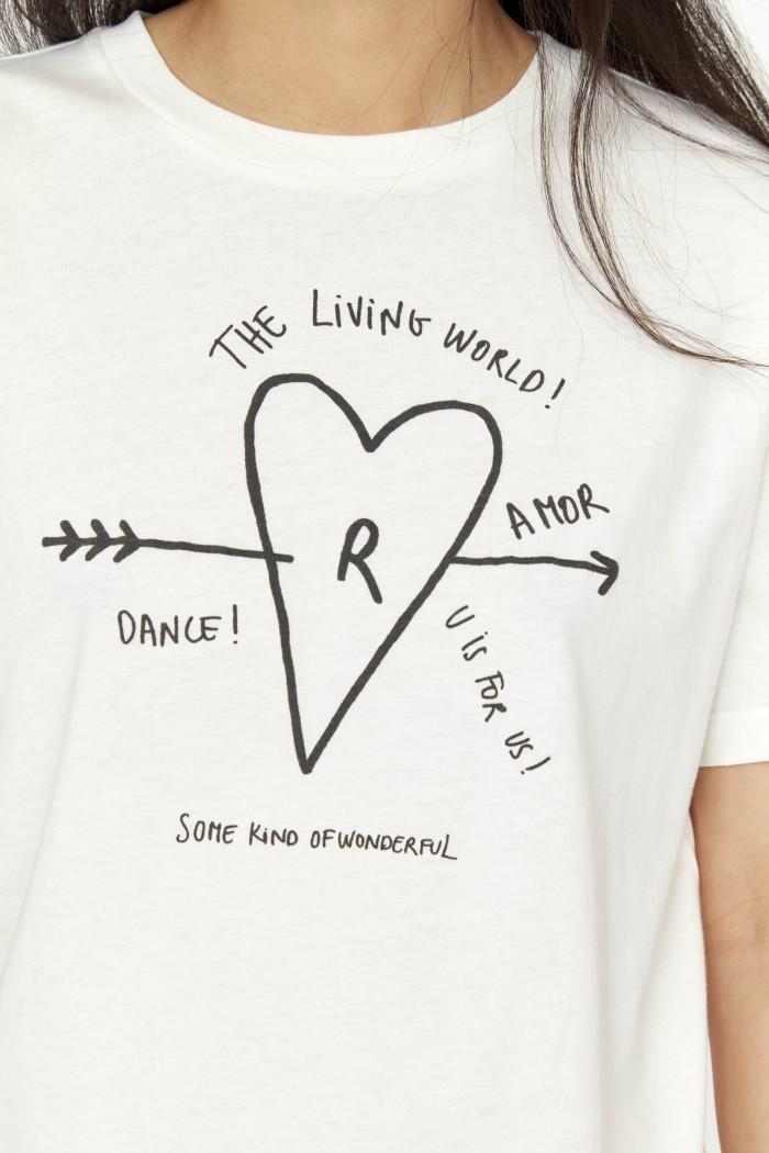 Neverlove Jersey tee shirt