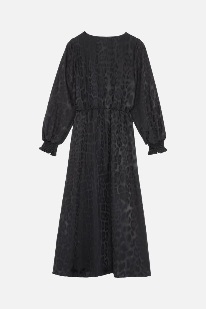 Barrie Leopard dress
